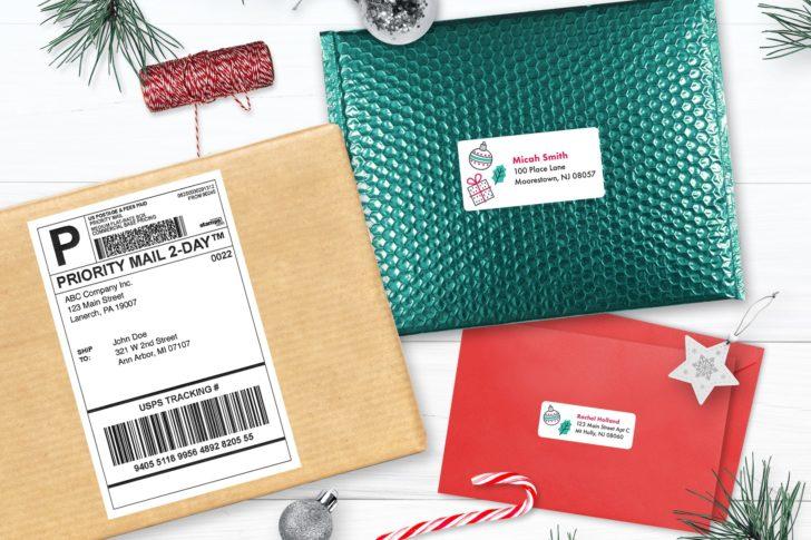 holiday season mail